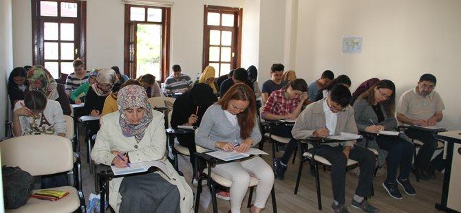 Beypazarı Gençlik Merkezinde KPSS Deneme Sınavı Yapıldı