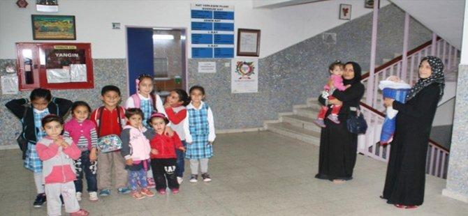 Beypazarı'nda Yaşayan Suriyeli Çocuklar da Okullu Oldular
