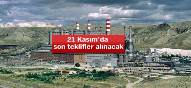 ÇAYIRHAN'DA 35 YIL İŞLETME HAKKI VERİLECEK TAVAN 72 DOLAR!..