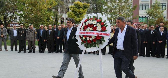 Beypazarı'nda Muhtarlar Günü Törenlerle Kutlandı