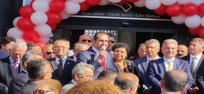 CHP Beypazarı ve Nallıhan'da Mülkiyetlerini Aldığı İlçe Parti Binalarının Açılışlarını Yaptı