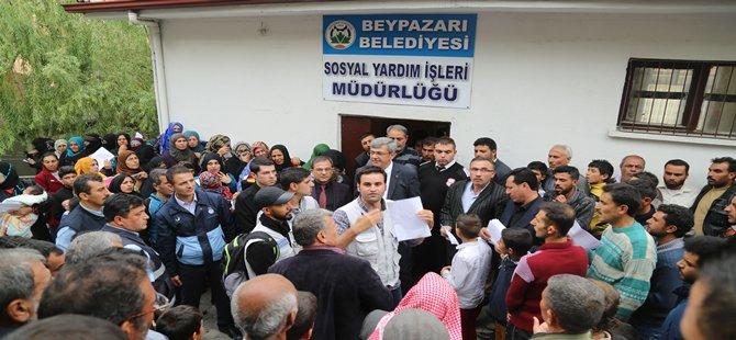 Beypazarı Belediyesi Sosyal Yardımlara Devam Ediyor