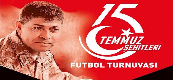 15 Temmuz Şehitleri Futbol Turnuvası Beypazarı'nda Başlıyor
