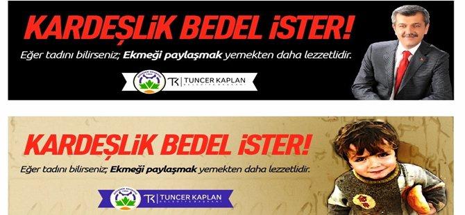 Beypazarı Belediye Başkanı Tuncer KAPLAN '' Kardeşlik Bedel İster ''