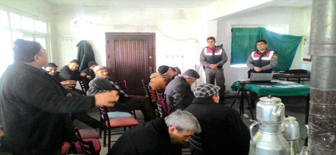 Beypazarı Jandarmasından Vatandaşlara Bilgilendirme Toplantısı