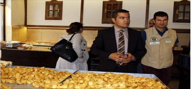 Beypazarı'nda Gıda İmalatı ve Satışı Yapılan İş Yerlerinde Denetim Yapıldı