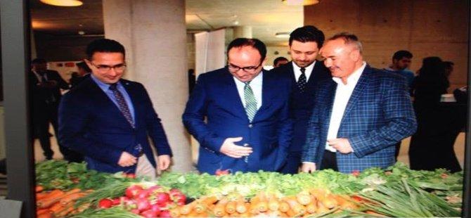 Beypazarı Bostancıları Kooperatifi Ankara'da Yöresel Ürünlerimizi Tanıttı