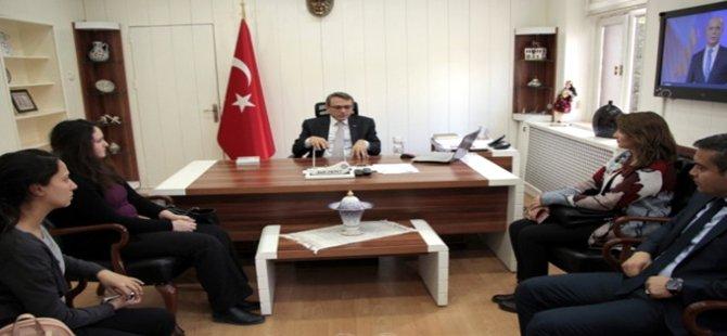 Ankara Kalkınma Ajansı Uzmanları Beypazarı Kaymakamı EKİNCİ'yi Ziyaret Ettiler