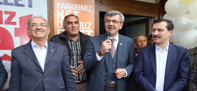 AK Parti  Beypazarı ilçe Başkanlığı Seçim Koordinasyon Merkezini Açtı