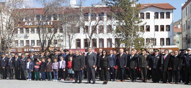 Beypazarı'nda Çanakkale Şehitleri Anma Töreni Düzenlendi