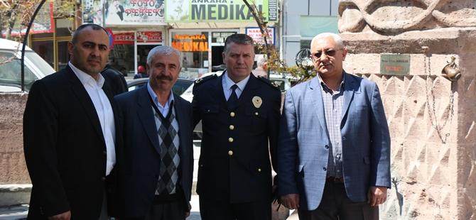 POLİS HAFTASI MÜNASEBETİYLE İLÇEMİZ TATLIÇEŞME CAMİ'NDE MEVLİDİ ŞERİF OKUNDU
