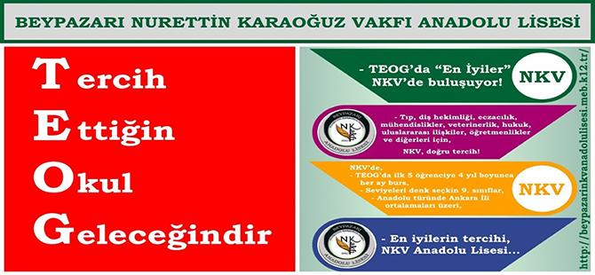"""NURETTİN KARAOĞUZ VAKFI ANADOLU LİSESİ """"EN ÖĞRENCİLERİ"""" BEKLİYOR"""