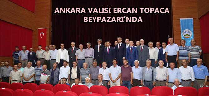 ANKARA VALİSİ ERCAN TOPACA BEYPAZARI'NDA