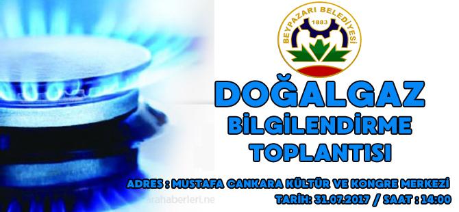 """""""DOĞALGAZ İLETİM HATTI"""" İLE İLGİLİ BİLGİLENDİRME TOPLANTI DUYURUSU"""