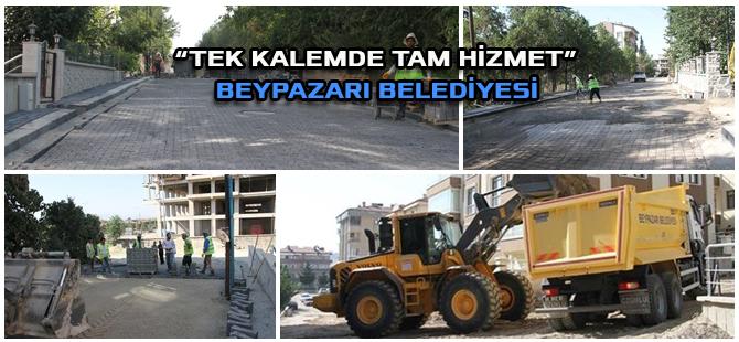 """""""TEK KALEMDE TAM HİZMET""""  BEYPAZARI BELEDİYESİ"""