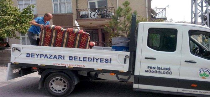 BEYPAZARI BELEDİYESİ'NDE SOSYAL YARDIMLAR DEVAM EDİYOR