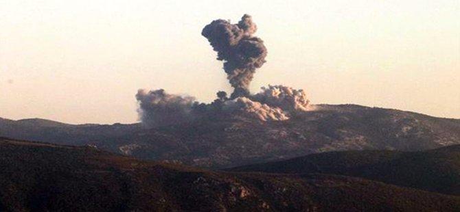 Afrin Operasyonu Başladı! Türk Jetleri PYD/PKK'nın Gözlem Noktalarını Vurdu