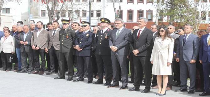 Beypazarı'nda 18 Mart Şehitleri Anma ve Çanakkale Zaferi'nin 103. Yılı Törenle Kutlandı