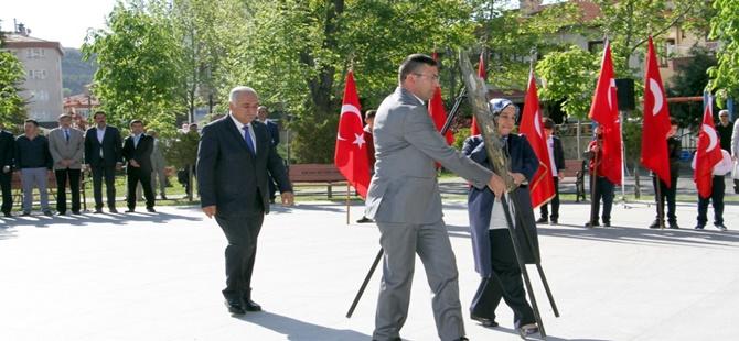 Beypazarı'nda 23 Nisan Ulusal Egemenlik ve Çocuk Bayramı Törenle Kutlandı