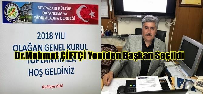 Beypazarı Kültür Dayanışma ve Yardımlaşma Derneğinin Olağan Genel Kurulunu Yaptı Dr.Mehmet ÇİFTÇİ Yeniden Başkan Seçildi