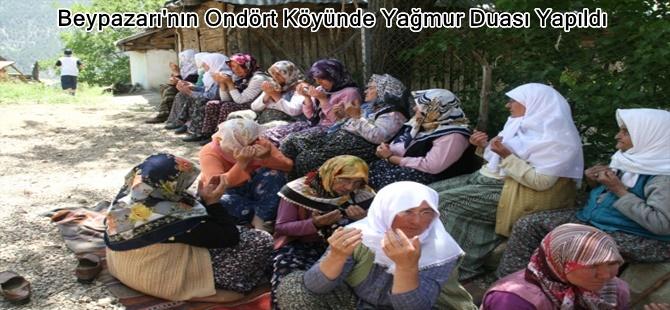 Beypazarı'nın Ondört Köyünde Yağmur Duası Yapıldı