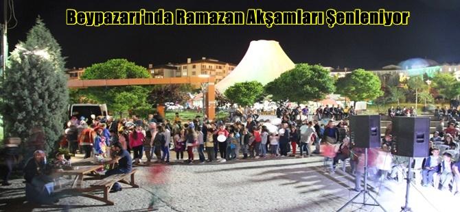 Beypazarı'nda Ramazan Akşamları Şenleniyor