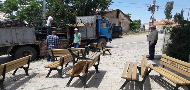 Beypazarı Belediyesinde Bank Yenileme İşlemleri Yapılıyor