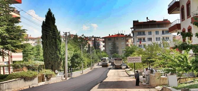 Beypazarı Belediyesi Asfaltlama İşlemlerini Sürdürüyor