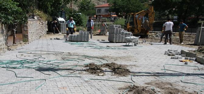 Beypazarı'nda Üst Yapı Çalışmaları Devam Ediyor