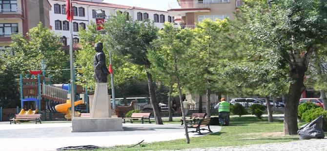 Belediyenin Çevre Düzenleme ve Peyzaj İşlemleri Devam Ediyor