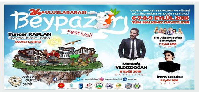 BEYPAZARI 24.ULUSALARARASI FESTİVALİNE HAZIRLANIYOR