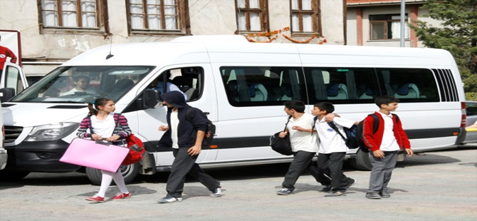 Beypazarı'nda Öğrenci Servisleri Denetlendi