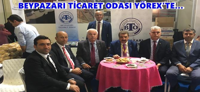 BEYPAZARI TİCARET ODASI YÖREX'TE…