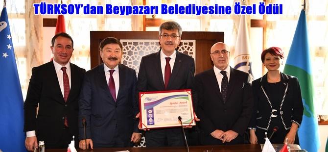 TÜRKSOY'dan Beypazarı Belediyesine Özel Ödül