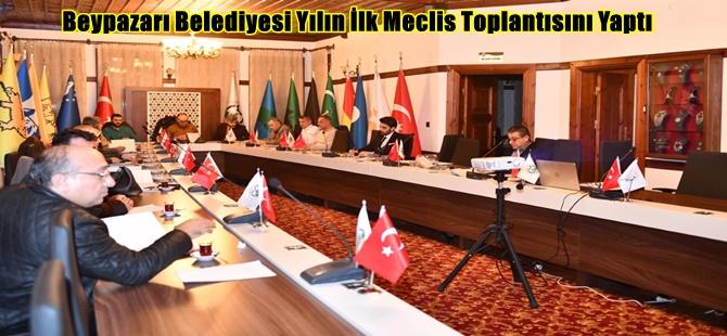 Beypazarı Belediyesi Yılın İlk Meclis Toplantısını Yaptı