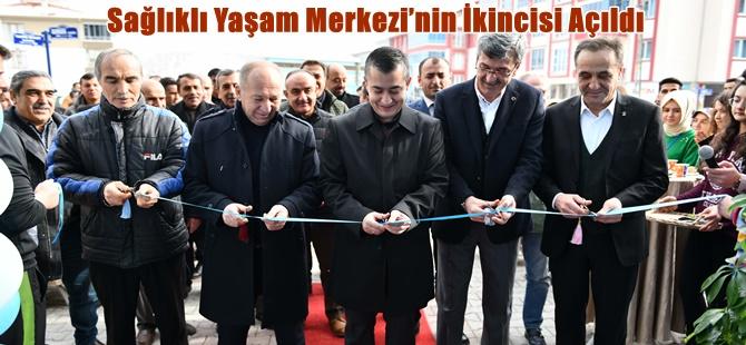 Beypazarı'nda Sağlıklı Yaşam Merkezi'nin İkincisi Açıldı