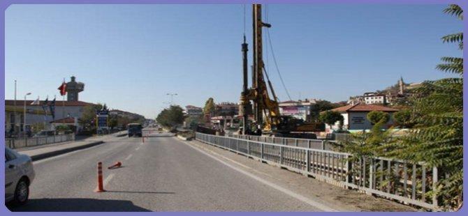 Beypazarı Girişinde Yeni Köprü Çalışmaları Başladı