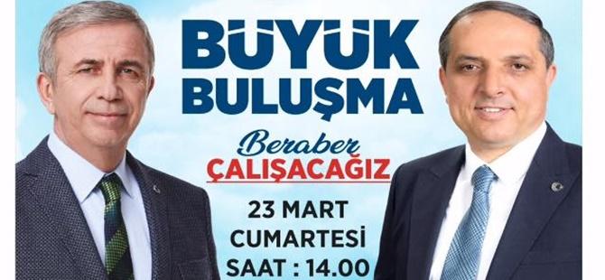 23 MART 2019 CUMARTESİ GÜNÜ MANSUR YAVAŞ BEYPAZARI'NDA...