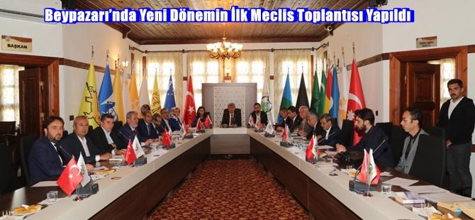Beypazarı'nda Yeni Dönemin İlk Meclis Toplantısı Yapıldı