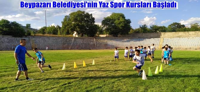 Beypazarı Belediyesi'nin Yaz Spor Kursları Başladı