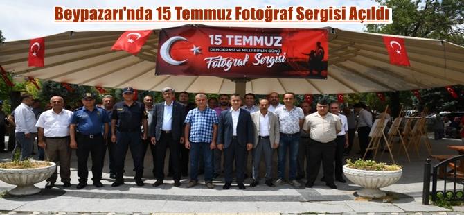 Beypazarı'nda 15 Temmuz Fotoğraf Sergisi Açıldı