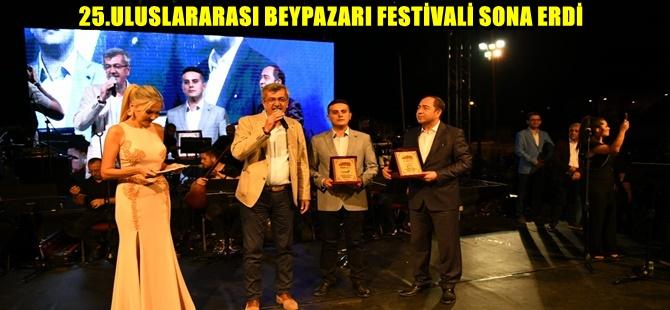 25.ULUSLARARASI BEYPAZARI FESTİVALİ SONA ERDİ