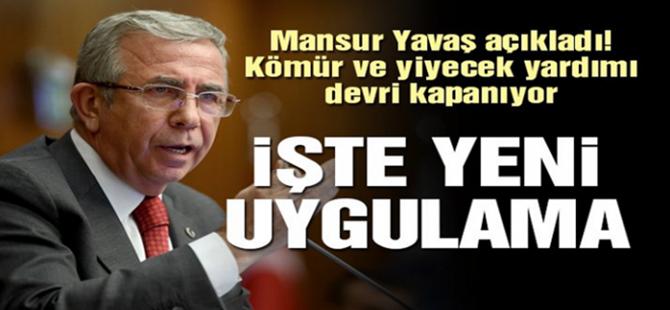 BAŞKAN YAVAŞ'DAN DEVRİM NİTELİĞİNDE KARARLAR...