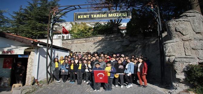 Beypazarı'nda Öğrenciler Yaşam Alanlarını Tanıyor