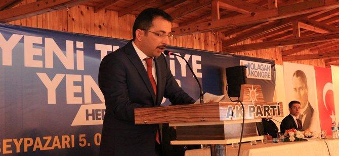 AK Parti Beypazarı İlçe Başkanlığına Ali ÇAKIROĞLU Seçildi