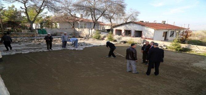 Beypazarı´nda Köyden Mahalleye dönüşen yerleşim birimlerinde çalışmalara hız verildi