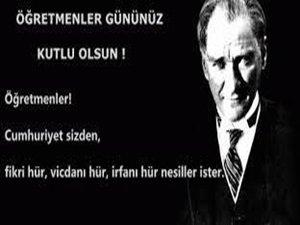 CHP Beypazarı İlçe Başkanı Ali Uysal'ın Öğretmenler Günü Mesajı