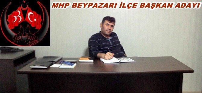 Recep ÖNDER  MHP  Beypazarı  İlçe Başkanlığına Adaylığını Açıkladı