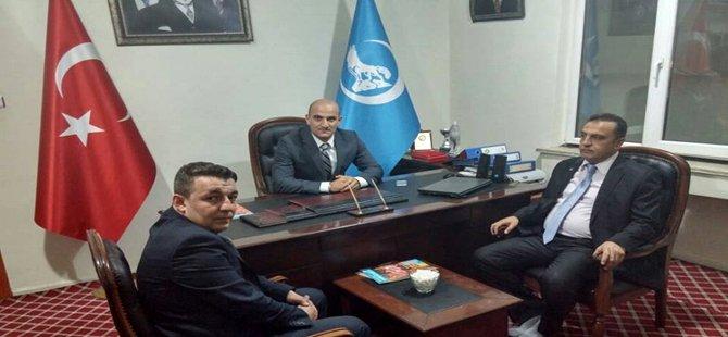 Ülkü Ocakları Eğitim ve Kültür Vakfı Genel Başkanı Olcay Kılavuz Beypazarı'ndaydı