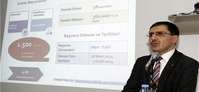Ankara Üniversitesi Beypazarı Meslek Yüksek Okulunda Tübitak Destekleri Semineri